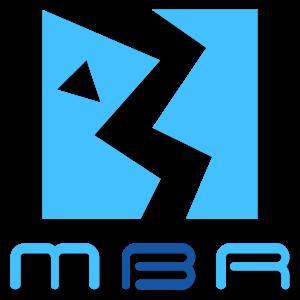 logo mbr blue